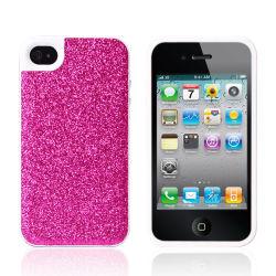 Décoration de téléphone mobile pour iPhone 4G/4s couvrir Poudre éclair Glitter TPU Bâton de l'eau d'une peau qui collent une peau téléphone cellulaire fixe le couvercle de téléphone