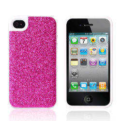Phone mobile Decoration per il iPhone 4G/4s Cover Flash Powder Glitter TPU Water Stick uno Skin That Stick una cellula epiteliale Phone Sets Phone Cover