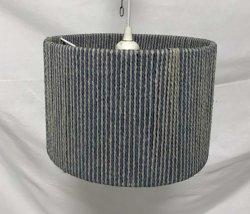 Commerce de gros double chaîne de papier enroulé abat-jour pour lampe de table avec des non ELC