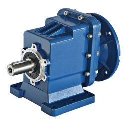 La Base de pie de la TRC y salida de aluminio tipo brida reductor helicoidal de la relación de 1 a 90 grados de aluminio Caja de engranajes de la caja de velocidades de 90 grados