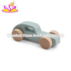 2020 Comercio al por mayor de madera pequeños en edad preescolar coches de juguete para niños W04A469A