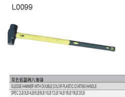 두 배 색깔 플라스틱 코팅 손잡이 L0099를 가진 망치 망치