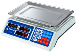 30 كجم من السعر الرقمي للبيع بالتجزئة وزن الحوسبة المقياس الإلكتروني