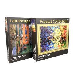 1000 stukken 75*50cm Aangepast Speelgoed van de Jonge geitjes van de Puzzel van de Druk