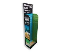 Vendre supermarché personnalisée bouteille de bière Stand le coke de soude pour vitrine du réceptacle d'affichage