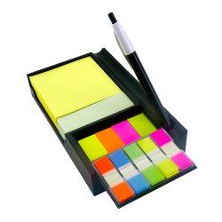 自己接着多彩な印刷のノートの良質の習慣の一定の粘着性があるノート