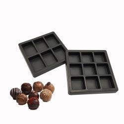 Custom biscuit au chocolat noir recyclable Blister en plastique alimentaire Insérez le tiroir