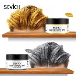 9 Cores Private Label Corante de Cera de cor de cabelo temporária