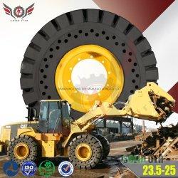 La pala gommata più venduta per movimentatori di pietre e rifiuti 23.5-25 Solid OTR Per Komatsu-Wa380-Cat-938m-950gc-962m-Hyundai-Hl960A-Volvo-L110h-L120h-Jcb457