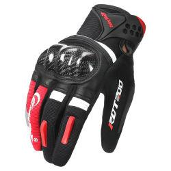 China Manufacturer Wholesale Custom Full Finger Leather Ride Racing Sports Beschermend touchscreen Waterproof Motocross Handschoenen Leverancier MTB motorhandschoenen