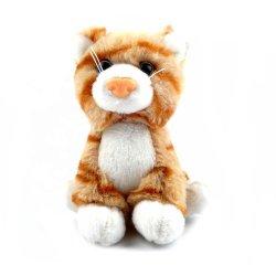 Custom adorável gato realistas Peluche de Pelúcia