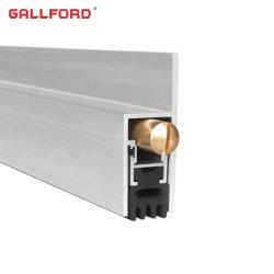Puertas automáticas de aluminio de la junta inferior GF-B042