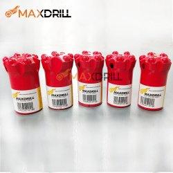 Maxdrill 7도 테이퍼 버튼 비트 암석 드릴 비트 Zin-coated Inside Drilling Hammer 광산 공구