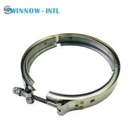 Fascetta stringitubo a V bullone a T tubo flessibile in acciaio inox per impieghi pesanti Morsetto