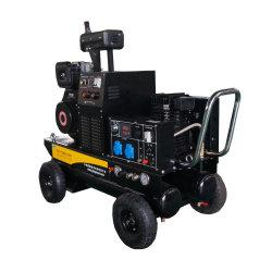 5kVA電力の携帯用溶接工および空気圧縮機ガソリン発電機