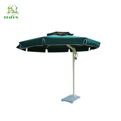 고급 실외 정원 파티오 로마 광고 알루미늄 우산