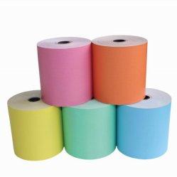 Rotoli di carta termica con logo stampato impermeabile
