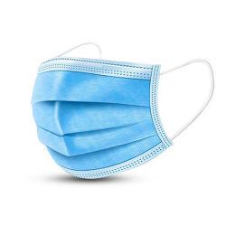 3 plis Ear-Loop masque jetable de protection de la fabrication de gros des bactéries et virus