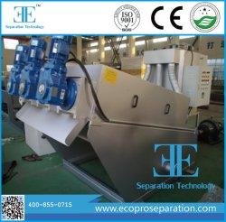 La prensa de tornillo de la máquina de deshidratación de lodos botella