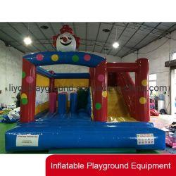 Interiores personalizados tobogán de agua inflable saltando bouncer para exteriores