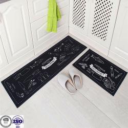 Tapis décoratif modèle personnalisé de tapis de nylon mat Heat-Resistant de cuisine