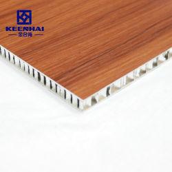 fait sur mesure matériaux décoratifs en aluminium Panneau alvéolé