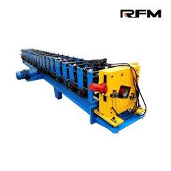 آلة تشكيل لفافة مطر مستطيلة الشكل ومستطيلة من الفولاذ الذي يؤدي إلى خفض الميزاب بجودة جيدة