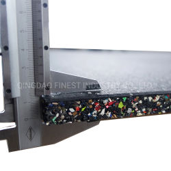 China Fabricante Poreless composto de borracha natural pavimento mosaico de borracha do tapete de borracha do piso de borracha para Fitness equipamento de ginásio