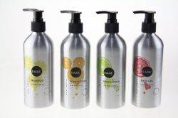 China fabricante profesional de gran capacidad personalizada botellas de aluminio Envases para Cosmética