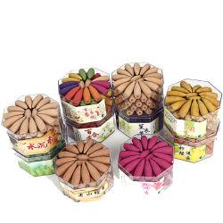 역류 향 콘 자연적인 향기로운 향 지팡이 추가 향수