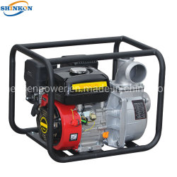 محرك بنزين سعة 6.5 لترات يعمل ببوصتين مياه نظيفة للجازولين الصغير المضخة