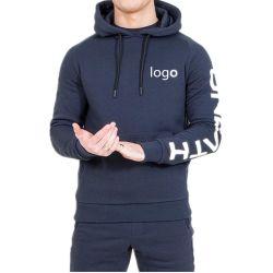 2019 Venda quente homens Personalizado Jogging Suit /Homens Sweatsuit/personalizado homens Hoody Treino fabricados na China