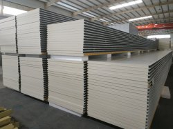 PUR/PG/IRP/Puf isolant en mousse polyuréthane/mur sandwich isolés et les panneaux de toit pour maisons préfabriquées/chambre froide/entrepôt/Shed/Garage/caravane