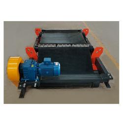 Permanet Magnetic Box in plaats van Energizing Coil om energie te besparen En transportband met energiemagneet