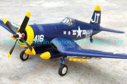 양 날개의 길이 1200mm를 가진 RC 비행기 F4u 모형 원격 제어 비행기