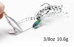 Het Aas van de Spinner 10.6g van de Lokmiddelen 3/8oz van Spinnerbait voor het BasLokmiddel van de Visserij van het Metaal van Snoeken