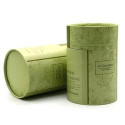 Het Verpakkende Vakje van de Cilinder van de Thee van de douane om de Buis van het Document van de Verpakking