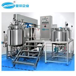 Miscelatore di sollevamento idraulico di vuoto di Jiinzong 500L per crema cosmetica, lozione, unguento