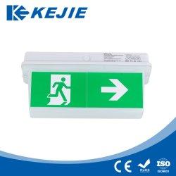 2W PC пластиковый корпус 3h от резервной батареи аварийного потолочные светильники светодиодные лампы аварийной светодиодный индикатор щитка передка