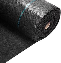 المنتج الساخن الخدمة الشاقة 125GSM الحاجز الأسود الحاجز Landscape حديقة حاجز قماش أرضية غطاء قماش سعر رخيص