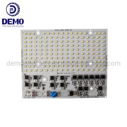Ec Certification RoHS 110lm/W Anti-surtensions Classe 4KV 220V AC Dob sans conducteur carré de 100 W SMD LED PCB Module LED PCBA pour projecteur à LED 100W