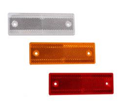 De Weerspiegelende Plastic Reflector van de veiligheid voor de Aanhangwagens van de Vrachtwagen/Auto/Motorfiets met Twee Gaten