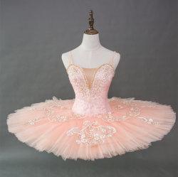 Haute qualité professionnelle à la main 12 couches filles Ballet noir Tutu