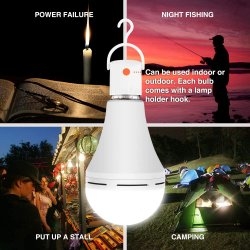 Camping lumière Rechargeable LED 9W 12W