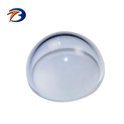 Optical Bk7 Vidro cristal de safira Dome câmara CCTV debaixo da tampa do teto de vidro
