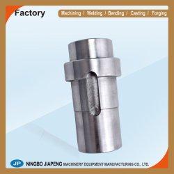 CNC die Delen, Delen die van de Apparatuur, Delen van de Machine, Machinaal bewerkte Delen, de Schacht van Delen van Machines/Staal/de Verwerking van het Metaal machinaal bewerken de Dienst machinaal bewerken