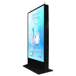 Straat die de OpenluchtMachine van de Advertentie van de Bevordering van het Product Aantrekkelijke Digitale adverteren