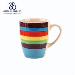 중국 도매 14oz에 의하여 윤이 나는 다채로운 사기그릇 세라믹 커피잔 (TC0902413-A)