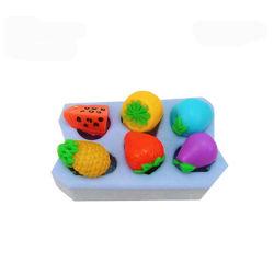 カスタムシルクスクリーンCNCの急速なプロトタイピング3Dの印刷プロトタイプ生産の石鹸型のシリコーンの長方形のシリコーンは蝋燭のフルーツのシリコーン型を形成する