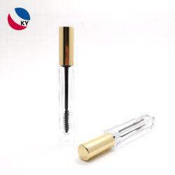 De nieuwe Verpakking van Lipglosstube van de Mascara van de Fles van de Wenkbrauw van het Serum van de Wimper van het Glas van de Vorm van de Container van het Concept Kosmetische 5ml 10ml Duidelijke Transparante Vierkante Lege